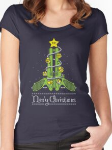 Nes'y Christmas - ugly christmas jumper Women's Fitted Scoop T-Shirt