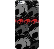 The Iconic Thundercats (black) iPhone Case/Skin