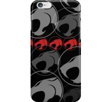The Iconic Thundercats (black) iPhone Case/Skin