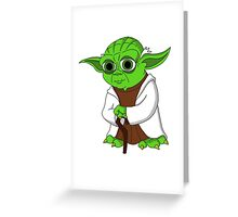 Yoda#3 Greeting Card