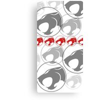 The Iconic Thundercats (white) Canvas Print
