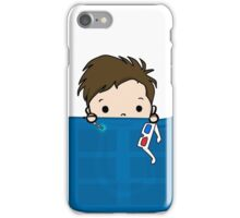 Tenth Doctor in my Pocket iPhone Case/Skin