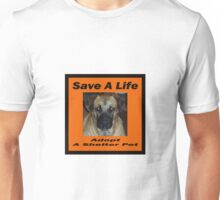 Adopt a Shelter Pet Unisex T-Shirt