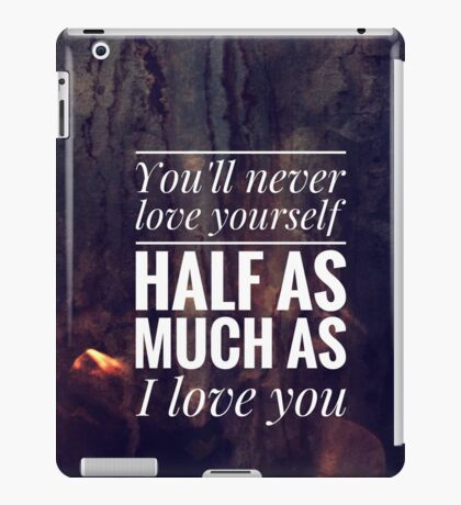 One Direction - Little Things #1 iPad Case/Skin