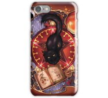 Black Cat Magic iPhone Case/Skin