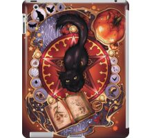 Black Cat Magic iPad Case/Skin