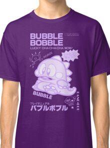 Bubble Bobble (Purple) Classic T-Shirt