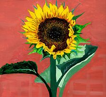 Crazy for Sunflowers Calendar  by Anne Gitto
