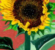 Homegrown Sunshine-My Sunflower Sticker