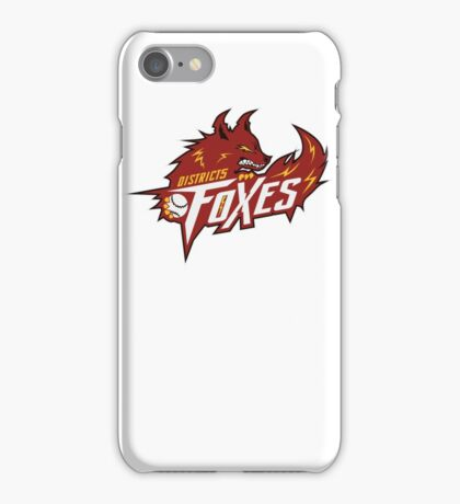 District 5 Power Foxes iPhone Case/Skin