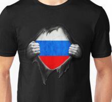 Russia Flag. Proud Russian Unisex T-Shirt
