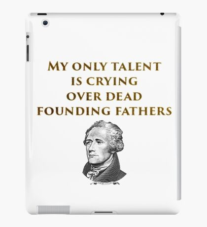 Hamilton Talents iPad Case/Skin