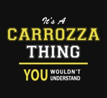 It's A CARROZZA thing, you wouldn't understand !! by satro