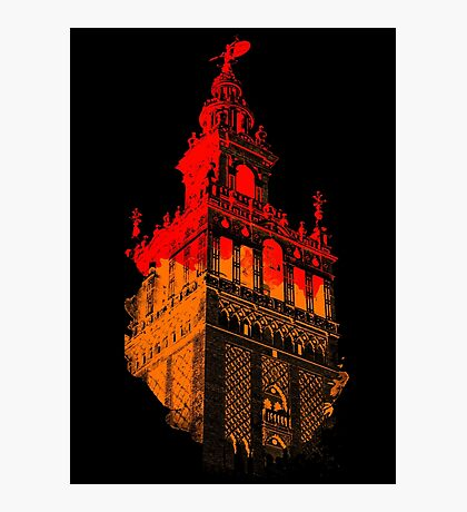 Seville the Giralda Photographic Print