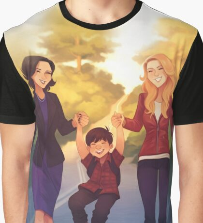 A Perfect Family Graphic T-Shirt