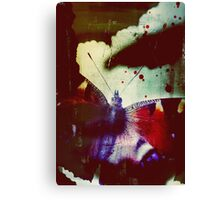 Fear of Butterflies Canvas Print