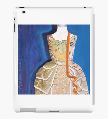Orange Curly Ribbon iPad Case/Skin
