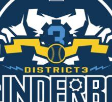 District 3 Thunderbolt Sticker