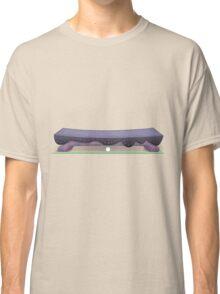 Glitch furniture bench violet voyage bench Classic T-Shirt