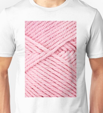 Pink Yarn Unisex T-Shirt