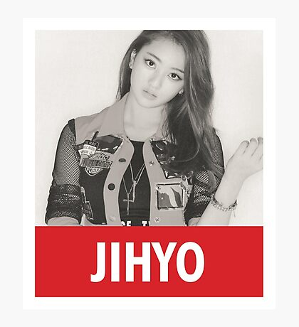 TWICE - Jihyo Photographic Print