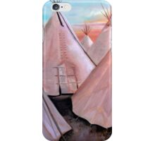 """""""Tepees at Sunset"""" iPhone Case/Skin"""