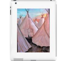 """Tepees at Sunset"" iPad Case/Skin"