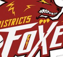 District 5 Power Foxes Sticker
