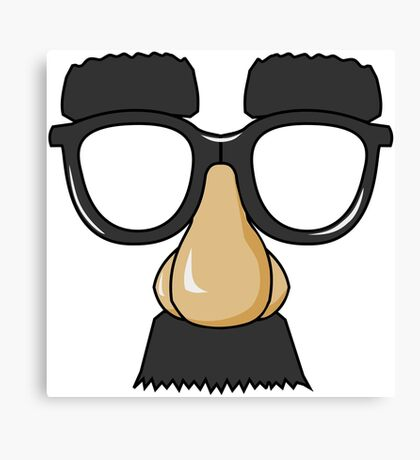 Goofy Disguise Canvas Print