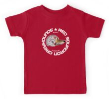 Red Squadron Greyhounds (DARK T-SHIRTS) Kids Tee