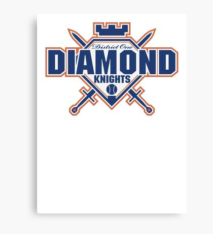 District 1 Diamond Knights Canvas Print