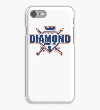 District 1 Diamond Knights iPhone Case/Skin