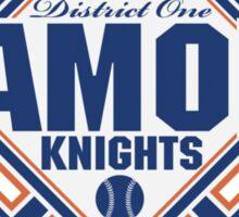 District 1 Diamond Knights Sticker