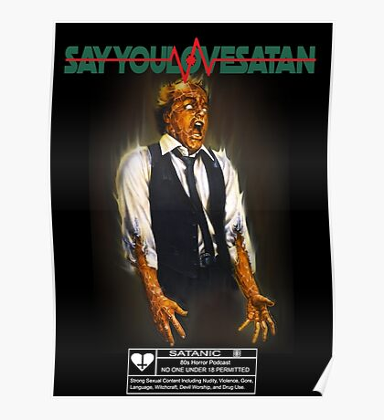 Say You Love Satan 80s Horror Podcast - Scanners Poster