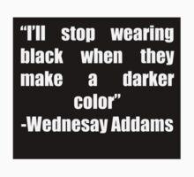 Stop wearing black by ldeitch