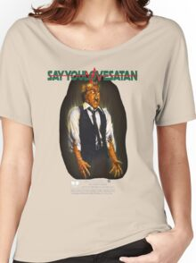 Say You Love Satan 80s Horror Podcast - Scanners Women's Relaxed Fit T-Shirt