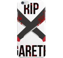 The Waling Dead RIP Gareth iPhone Case/Skin