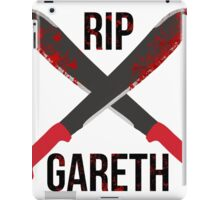 The Waling Dead RIP Gareth iPad Case/Skin