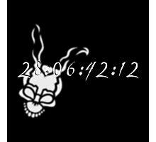 Frank's Countdown w/Logo Photographic Print