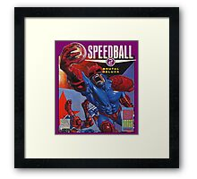 Speedball 2 Framed Print