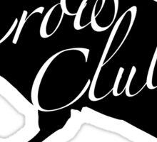 Crow Club Sticker