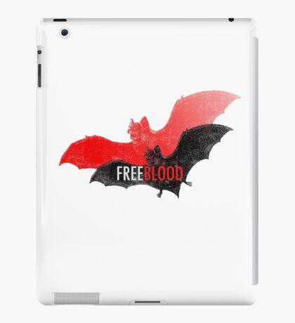 Free blood iPad Case/Skin