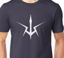 Black Knights Symbol (white) Unisex T-Shirt