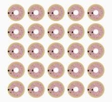 Pink glazed donut pattern Kids Clothes