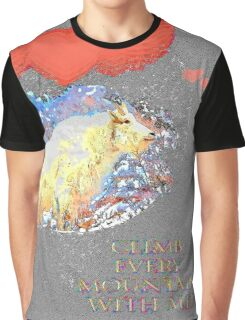 Climb Every Mountain Graphic T-Shirt