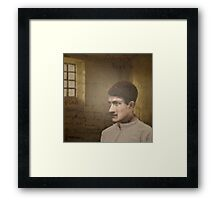 Terence MacSwiney in Brixton Jail Framed Print
