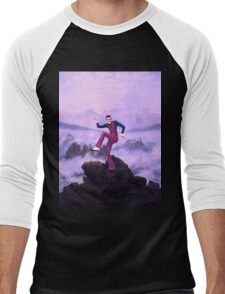 We are number one but it´s Wanderer above the Sea of Fog Men's Baseball ¾ T-Shirt