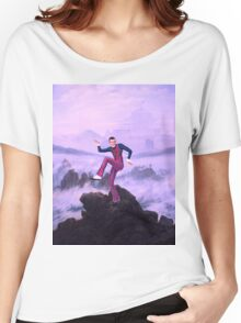 We are number one but it´s Wanderer above the Sea of Fog Women's Relaxed Fit T-Shirt