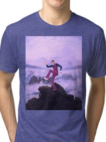 We are number one but it´s Wanderer above the Sea of Fog Tri-blend T-Shirt