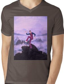 We are number one but it´s Wanderer above the Sea of Fog Mens V-Neck T-Shirt